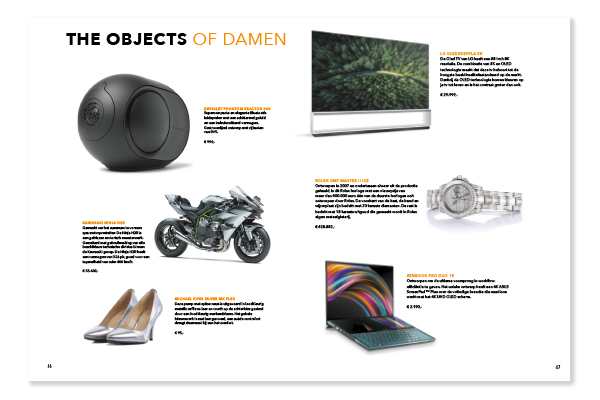 The Objects of Damen