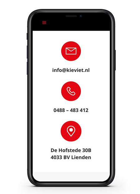 Kieviet contact mobiel